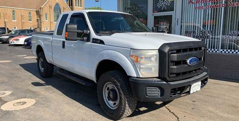 2011 Ford F-250 Super Duty for sale at KUHLMAN MOTORS in Maquoketa IA