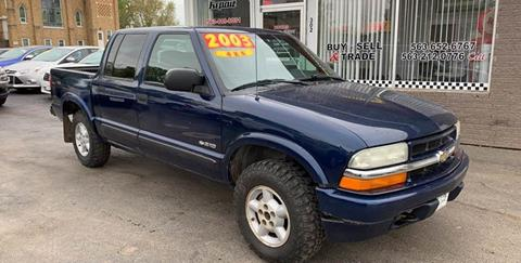 2003 Chevrolet S-10 for sale at KUHLMAN MOTORS in Maquoketa IA