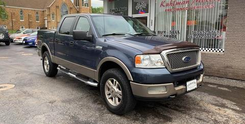 2005 Ford F-150 for sale at KUHLMAN MOTORS in Maquoketa IA