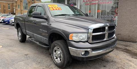 2003 Dodge Ram Pickup 2500 for sale at KUHLMAN MOTORS in Maquoketa IA