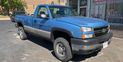 2006 Chevrolet Silverado 2500HD for sale at KUHLMAN MOTORS in Maquoketa IA