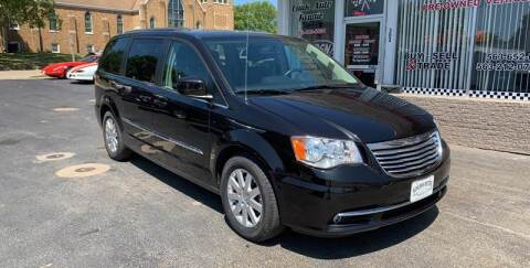 2016 Chrysler Town and Country for sale at KUHLMAN MOTORS in Maquoketa IA