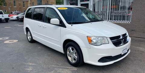 2012 Dodge Grand Caravan for sale at KUHLMAN MOTORS in Maquoketa IA
