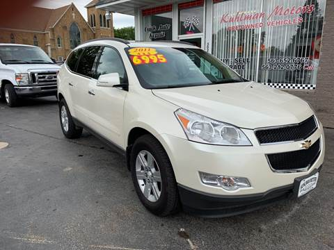 2011 Chevrolet Traverse for sale at KUHLMAN MOTORS in Maquoketa IA