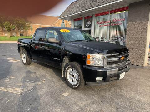 2010 Chevrolet Silverado 1500 for sale at KUHLMAN MOTORS in Maquoketa IA