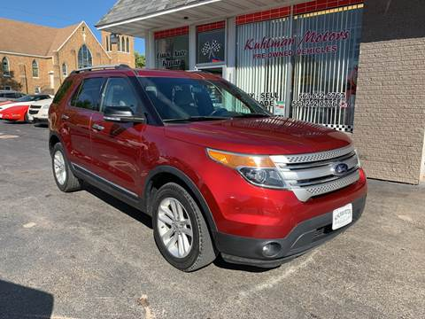2013 Ford Explorer for sale at KUHLMAN MOTORS in Maquoketa IA