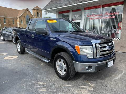 2011 Ford F-150 for sale at KUHLMAN MOTORS in Maquoketa IA