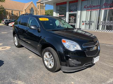 2014 Chevrolet Equinox for sale at KUHLMAN MOTORS in Maquoketa IA