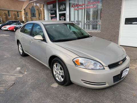 2008 Chevrolet Impala for sale at KUHLMAN MOTORS in Maquoketa IA
