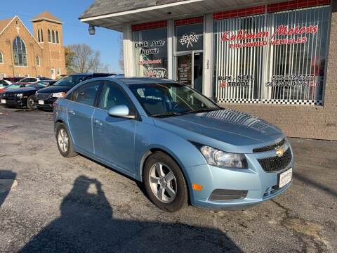 2012 Chevrolet Cruze for sale at KUHLMAN MOTORS in Maquoketa IA