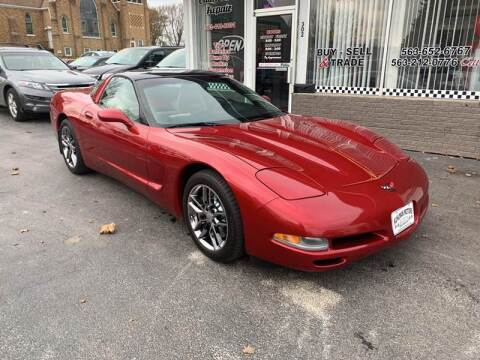 2004 Chevrolet Corvette for sale at KUHLMAN MOTORS in Maquoketa IA
