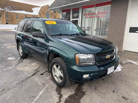 2006 Chevrolet TrailBlazer for sale at KUHLMAN MOTORS in Maquoketa IA