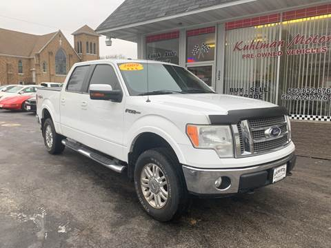 2009 Ford F-150 for sale at KUHLMAN MOTORS in Maquoketa IA