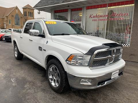 2012 RAM Ram Pickup 1500 for sale at KUHLMAN MOTORS in Maquoketa IA