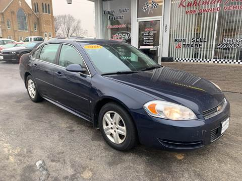 2009 Chevrolet Impala for sale at KUHLMAN MOTORS in Maquoketa IA