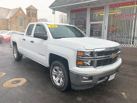2014 Chevrolet Silverado 1500 for sale at KUHLMAN MOTORS in Maquoketa IA