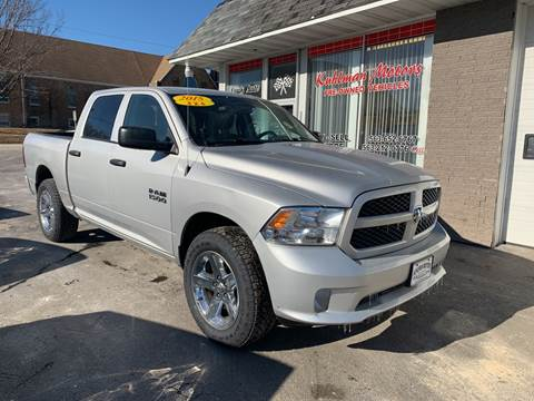 2015 RAM Ram Pickup 1500 for sale at KUHLMAN MOTORS in Maquoketa IA