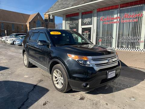 2014 Ford Explorer for sale at KUHLMAN MOTORS in Maquoketa IA