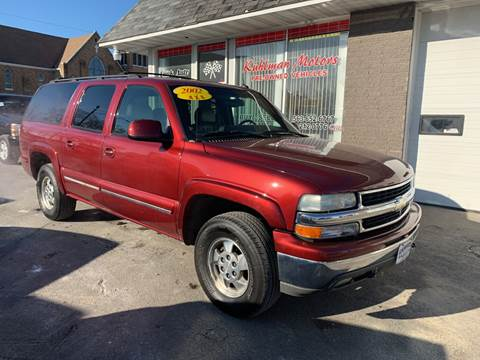 2002 Chevrolet Suburban for sale at KUHLMAN MOTORS in Maquoketa IA