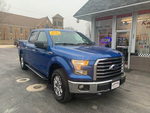 2016 Ford F-150 for sale at KUHLMAN MOTORS in Maquoketa IA