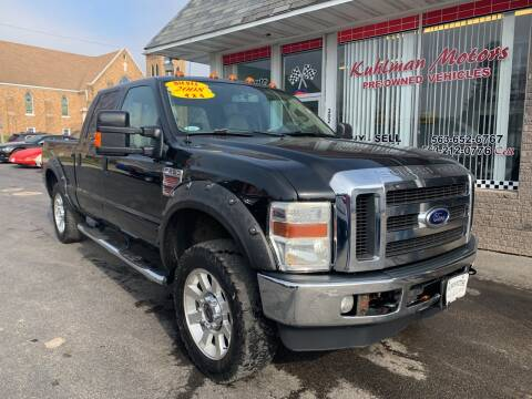2008 Ford F-250 Super Duty for sale at KUHLMAN MOTORS in Maquoketa IA