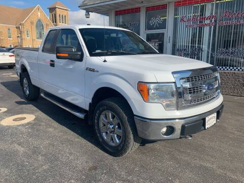 2014 Ford F-150 for sale at KUHLMAN MOTORS in Maquoketa IA