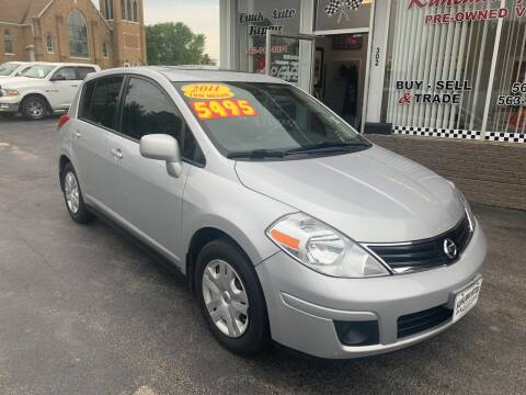 2011 Nissan Versa for sale at KUHLMAN MOTORS in Maquoketa IA