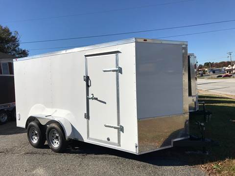 "2019 7x14 Tandem Axle 16"" OC Walls & Floor for sale in Spartanburg, SC"