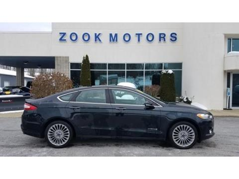 2014 Ford Fusion Hybrid for sale in Kane, PA