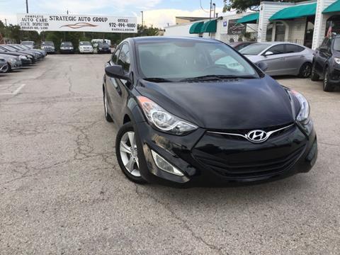 2013 Hyundai Elantra Coupe for sale in Garland, TX