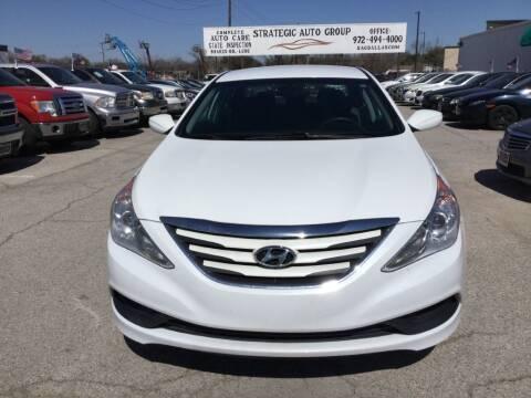 2014 Hyundai Sonata GLS for sale at Strategic Auto Group in Garland TX