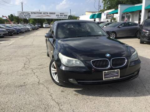 2010 BMW 5 Series 528i for sale at Strategic Auto Group in Garland TX