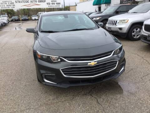 2018 Chevrolet Malibu LT for sale at Strategic Auto Group in Garland TX