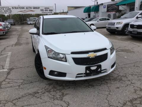 2014 Chevrolet Cruze LTZ Auto for sale at Strategic Auto Group in Garland TX