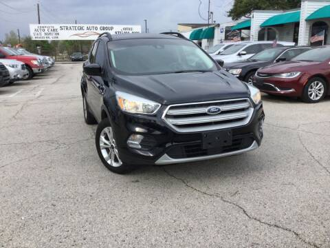 2018 Ford Escape SE for sale at Strategic Auto Group in Garland TX