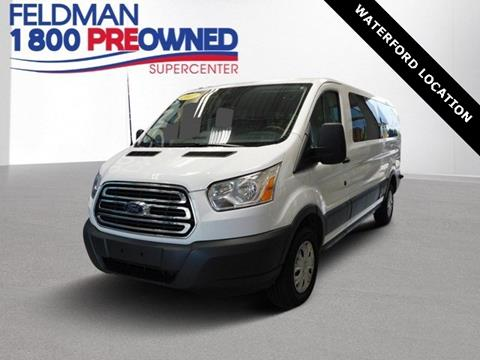 2017 Ford Transit Passenger for sale in Waterford, MI