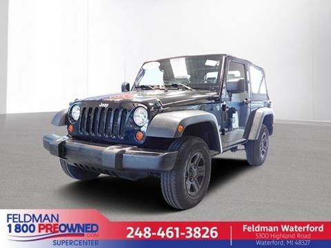 2009 Jeep Wrangler for sale in Waterford, MI