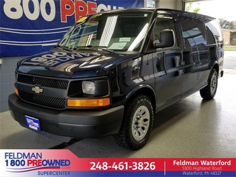 2014 Chevrolet Express Cargo for sale in Waterford, MI