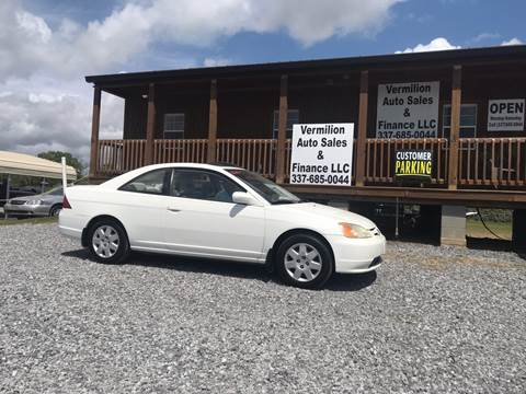 2002 Honda Civic for sale in Erath, LA