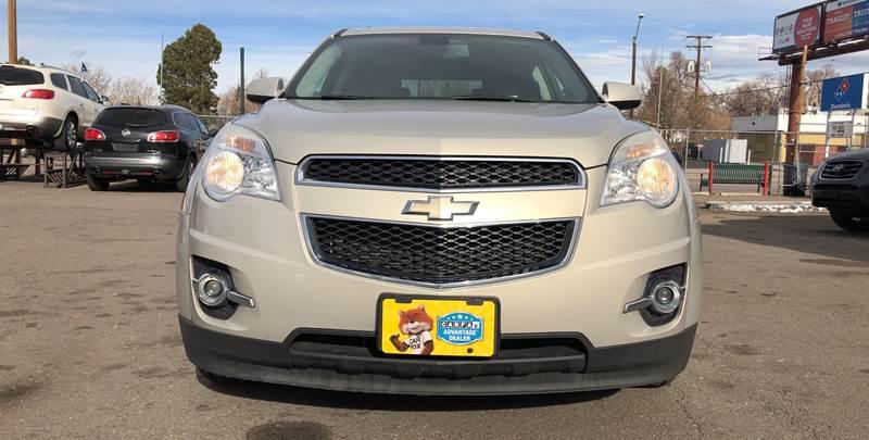 2010 Chevrolet Equinox for sale at Wheelz Motors LLC in Denver CO