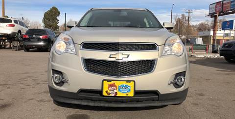 2010 Chevrolet Equinox for sale at Wheelz Motors LLC in Denver CO
