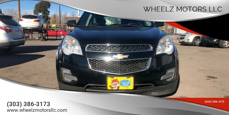 2011 Chevrolet Equinox for sale at Wheelz Motors LLC in Denver CO