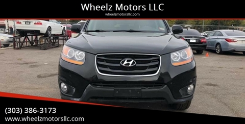 2011 Hyundai Santa Fe for sale at Wheelz Motors LLC in Denver CO