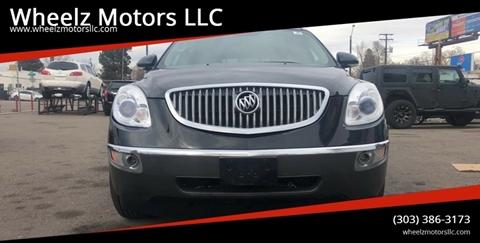2009 Buick Enclave for sale at Wheelz Motors LLC in Denver CO