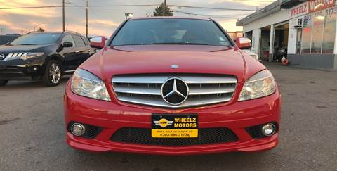 2008 Mercedes-Benz C-Class for sale at Wheelz Motors LLC in Denver CO