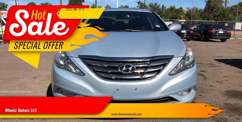 2013 Hyundai Sonata for sale at Wheelz Motors LLC in Denver CO