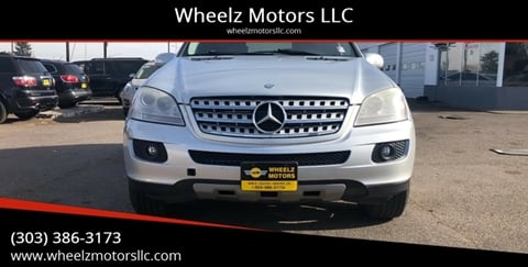 2007 Mercedes-Benz M-Class for sale at Wheelz Motors LLC in Denver CO