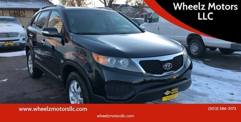 2011 Kia Sorento for sale at Wheelz Motors LLC in Denver CO