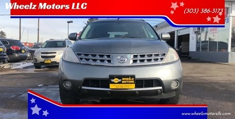 2006 Nissan Murano for sale at Wheelz Motors LLC in Denver CO