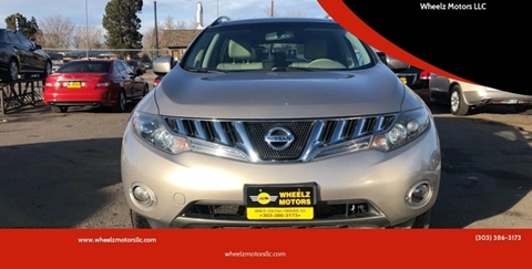 2009 Nissan Murano for sale at Wheelz Motors LLC in Denver CO